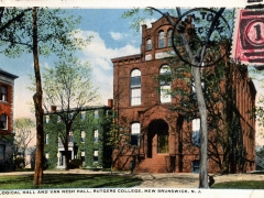 New Brunswick Geological Hall and Van Nesh Hall Rutgers College