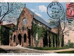 New Brunswick Kirkpatrick Chapel Rutgers College