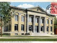 New Brunswick Middlesex County Record Building