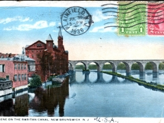 New Brunswick Scene on the Raritan Canal