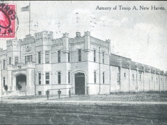 New Haven Armory of Troop A