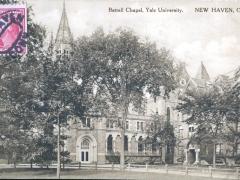 New Haven Battell Chapel Yale University