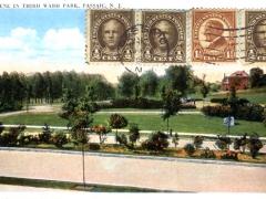 Passaic Scene in Third Ward Park