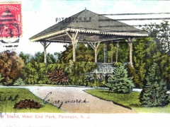 Paterson Band Stand West End Park