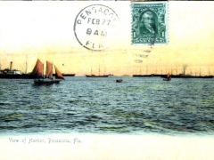 Pensacola View of Harbor