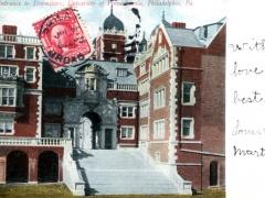 Philadelphia Entrance to Dormitory University
