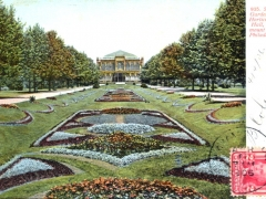 Philadelphia Fairmount Park Sunken Gardens and Horticultueal Hall
