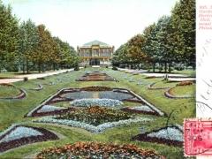 Philadelphia Fairmount Park Sunken Gardens and Horticultueal Hall