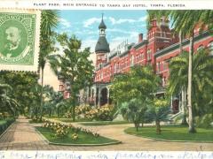 Tampa Pant Park Main Entrance to Tampa Bay Hotel