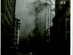 The-burning-of-the-Call-building