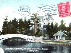 Thousand Islands Abraham and Strauss Cottage on Cherry Isle