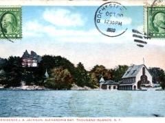 Thousand Islands Residence J A Jackson Alexandria Bay