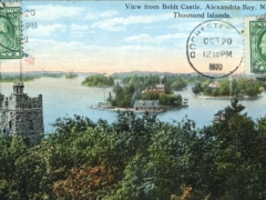 Thousand Islands View from Boldt Castle Alexandria Bay