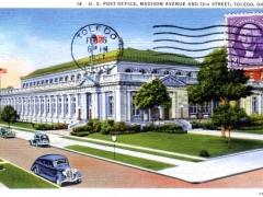 Toledo U S Post Office Madison Avenur and 13th Street