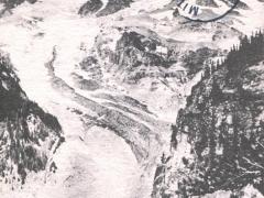 Upper Nisqually Glacier and Mt Rainier