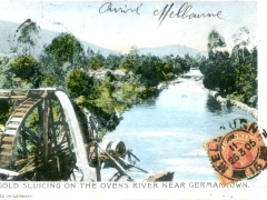 Gold-Sluicing-on-the-Ovens-River-near-Germantown