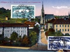 Esslingen a N Partie mit Seminar und Frauenkirche