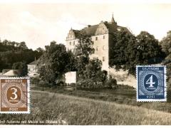 Schloss Schweta mit Mulde bei Döbeln i Sa
