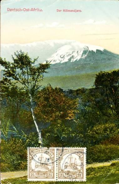 Deutsch-Ostafrika der Kilimandjaro