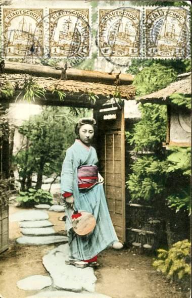 Kiautschou Geishakarte 20