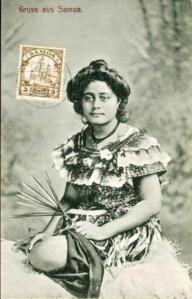 Samoa Apia Eingeborene2