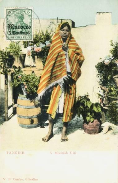 Tangier A Moorish Girl